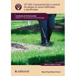 Caracterización y control de plagas en áreas edificadas y ajardinadas UF1505