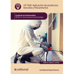 Aplicación de productos biocidas y fitosanitarios UF1506