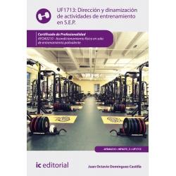 Dirección y dinamización de actividades de entrenamiento en sala de entrenamiento polivalente. AFDA0210