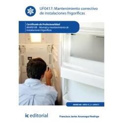 Mantenimiento correctivo de instalaciones frigoríficas. IMAR0108