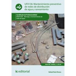 Mantenimiento preventivo de redes de distribución de agua y saneamiento. ENAT0108