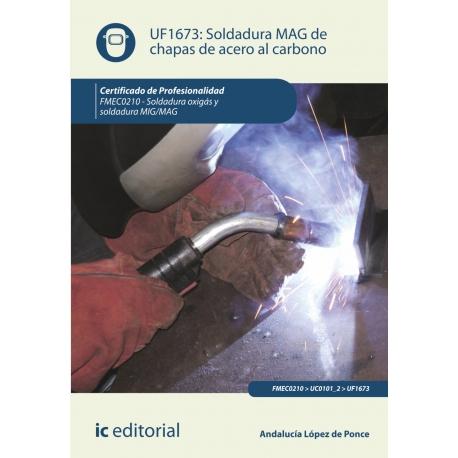 libro de soldadura mag de chapas de acero al carbono uf1673