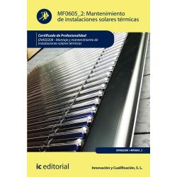 Mantenimiento de instalaciones solares térmicas (2ª ed.) MF0605_2
