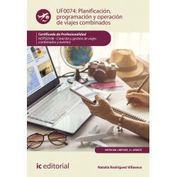 Planificación, programación y operación de viajes combinados UF0074
