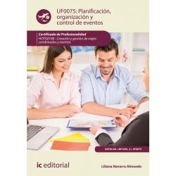 Planificación, organización y control de eventos UF0075