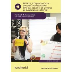 Organización de acciones socioeducativas dirigidas a jóvenes en el marco de la educación no formal. SSCE0109