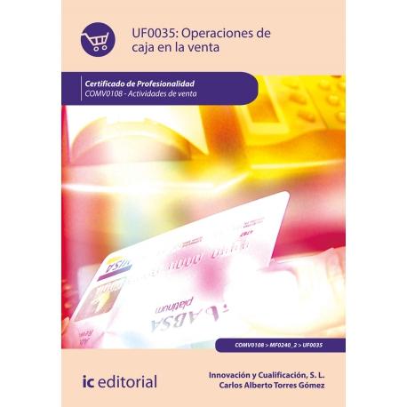 Operaciones de caja en la venta UF0035