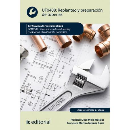 Replanteo y preparación de tuberías. IMAI0108