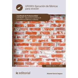 Ejecución de fábricas para revestir UF0303