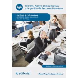 Apoyo administrativo a la gestión de Recursos Humanos. ADGD0208
