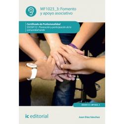 Fomento y apoyo asociativo. SSCG0112