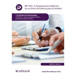 Programación didáctica de acciones formativas para el empleo - MF1442_3