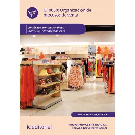 Organizacion de procesos de venta. COMV0108