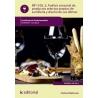 Análisis sensorial de productos selectos propios de sumillería y diseño de sus ofertas. HOTR0209