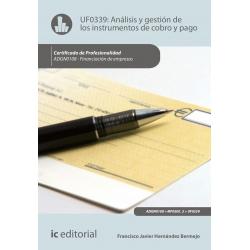 Análisis y gestión de los instrumentos de cobro y pago UF0339