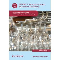 Recepción y lavado de servicios de catering MF1090_1 (2ª Ed.)