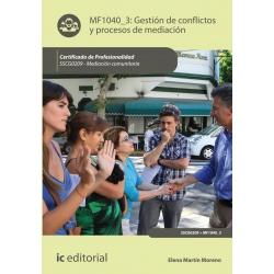 Gestión de conflictos y procesos de mediación. SSCG0209