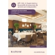 Supervisión y desarrollo de procesos de servicio de restauración. HOTR0409