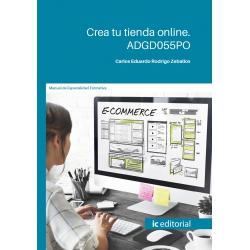 Crea tu tienda online ADGD055PO
