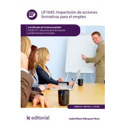Impartición de acciones formativas para el empleo UF1645