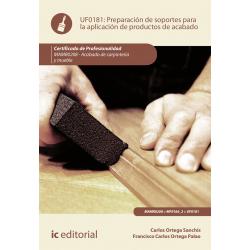 Preparación de soportes para la aplicación de productos de acabado UF0181