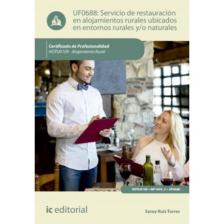 Servicio de restauración en alojamientos ubicados en entornos rurales y/o naturales. HOTU0109