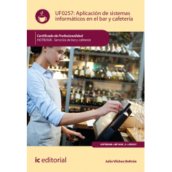 Aplicación de sistemas informáticos en bar y cafetería UF0257