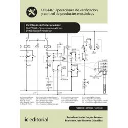 Operaciones de verificación y control de productos mecánicos UF0446 (2ª Ed.)
