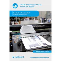Realización de la impresión digital UF0247 (2ª Ed.)