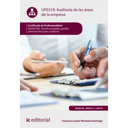 Auditoría de las áreas de la empresa UF0318