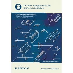Interpretación de planos en soldadura UF1640 (2ª Ed.)