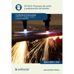 Procesos de corte y preparación de bordes UF1622 (2ª Ed.)