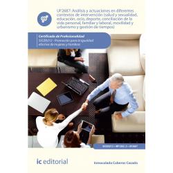 Análisis y actuaciones en diferentes contextos de intervención (salud y sexualidad, educación, ocio, deporte, conciliación de la