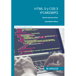 HTML 5 y CSS 3. IFCM036PO