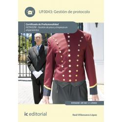 Gestion de Protocolo UF0043 (2ª Ed.)
