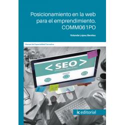 Posicionamiento en la web para el emprendimiento. COMM061PO