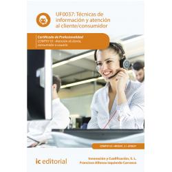 Técnicas de información y atención al cliente/consumidor UF0037
