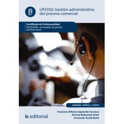 Gestión administrativa del proceso comercial. ADGD0308