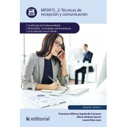 Técnicas de recepción y comunicación MF0975_2