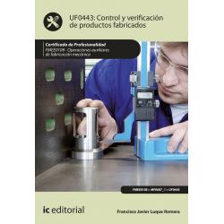 Control y verificación de productos fabricados. FMEE0108