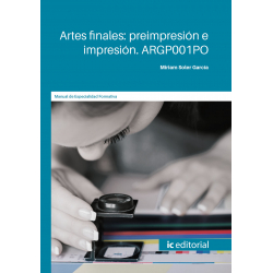 ARGP001PO. Artes finales: preimpresión e impresión