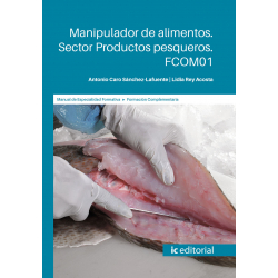 Manipulador de alimentos. Sector Productos pesqueros