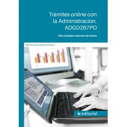 ADGD267PO. Trámites online con la Administración