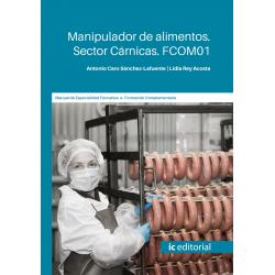FCOM01. Manipulador de alimentos. Sector Cárnicas