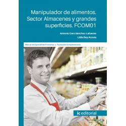 FCOM01. Manipulador de alimentos. Sector Almacenes y grandes superficies