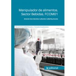 FCOM01. Manipulador de alimentos. Sector Bebidas