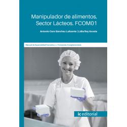 FCOM01. Manipulador de alimentos. Sector Lácteos