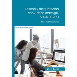 Diseño y maquetación con Adobe Indesign. ARGN002PO