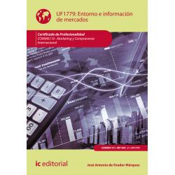 Entorno e información de mercados UF1779 (2ª Ed.)