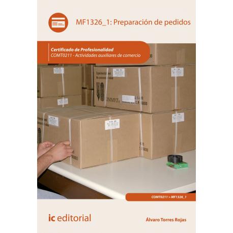 MF1326_1: Preparación de pedidos